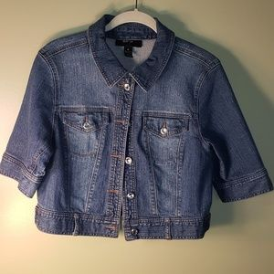 Style & Company Womens Jean Jacket Size Med.
